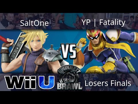 Gwinnett Brawl October 2017 - SaltOne (Cloud) vs YP | Fatality (Falcon) - Smash 4 Losers Finals