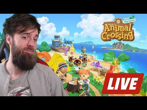 Animal Crossing New Horizons LIVE STREAM!