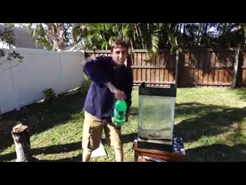 Thumbnail: Molten Aluminum Vs. 15 gallons of Sprite