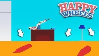 ПОЛ - ЭТО ЛАВА! (HAPPY WHEELS)