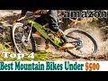 Best Mountain Bikes Under $500 | Cheap Mountain Bike
