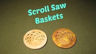 Scroll Saw Basket