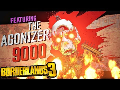 Carnivora and The Agonizer Boss Fights - Borderlands 3 (Saving Tannis)