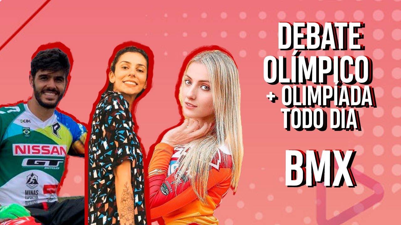 Debate olímpico - CICLISMO BMX ft. OTD com PRISCILLA STEVAUX e RENATO REZENDE no #DebateOlímpico