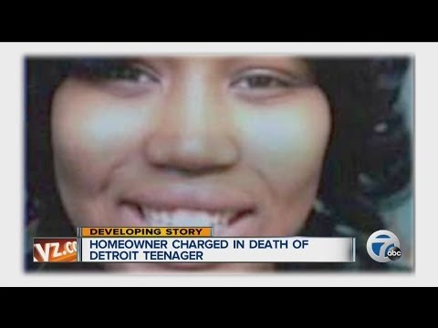 Homeowner charged in death of Detroit teenager