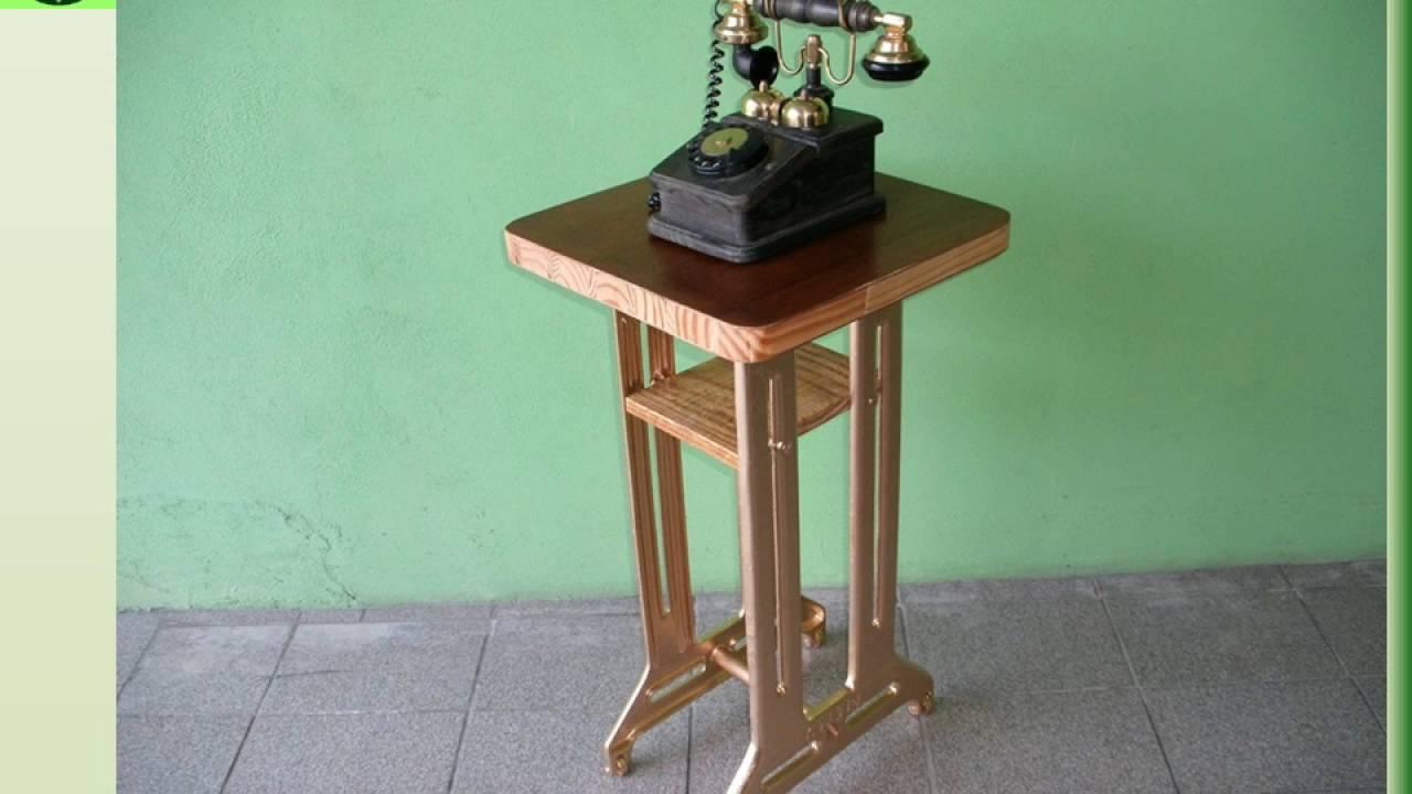 Aparador Pequeno Com Espelho ~ Aparador ou Pedestal Pé de Máquina de Costura Antigo Ferro