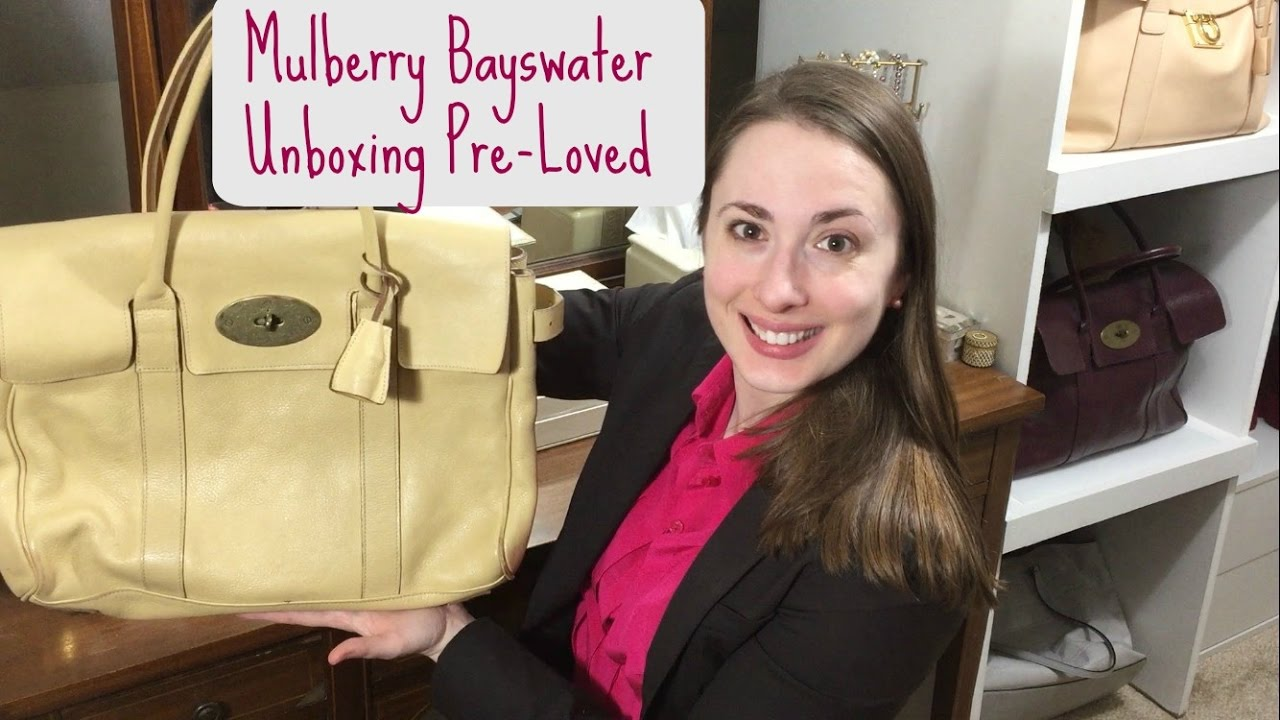 Pre-Loved Classic Mulberry Bayswater Unboxing e1c77af6a8cd1
