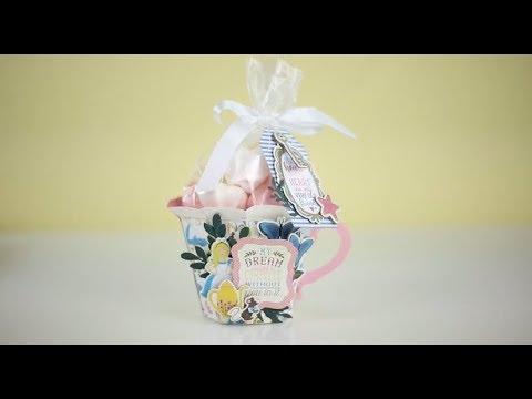 Alice in Wonderland Paper Tea Cup