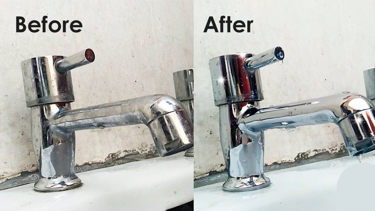 how to clean taps or shower heads how to remove