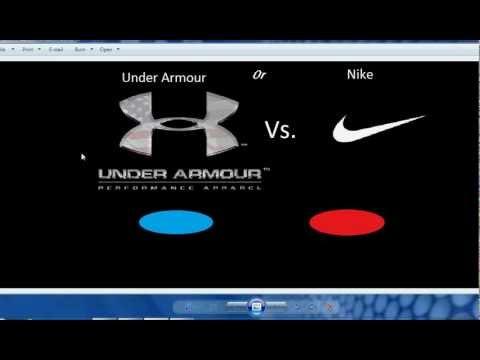 Under Armour vs. Nike - YouTube