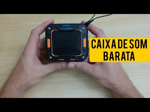 Caixa de som BOA e BARATA - BlitzWolf F2