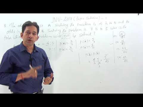 JNU- 2017 MCA  Paper Solution With Concept & Logic