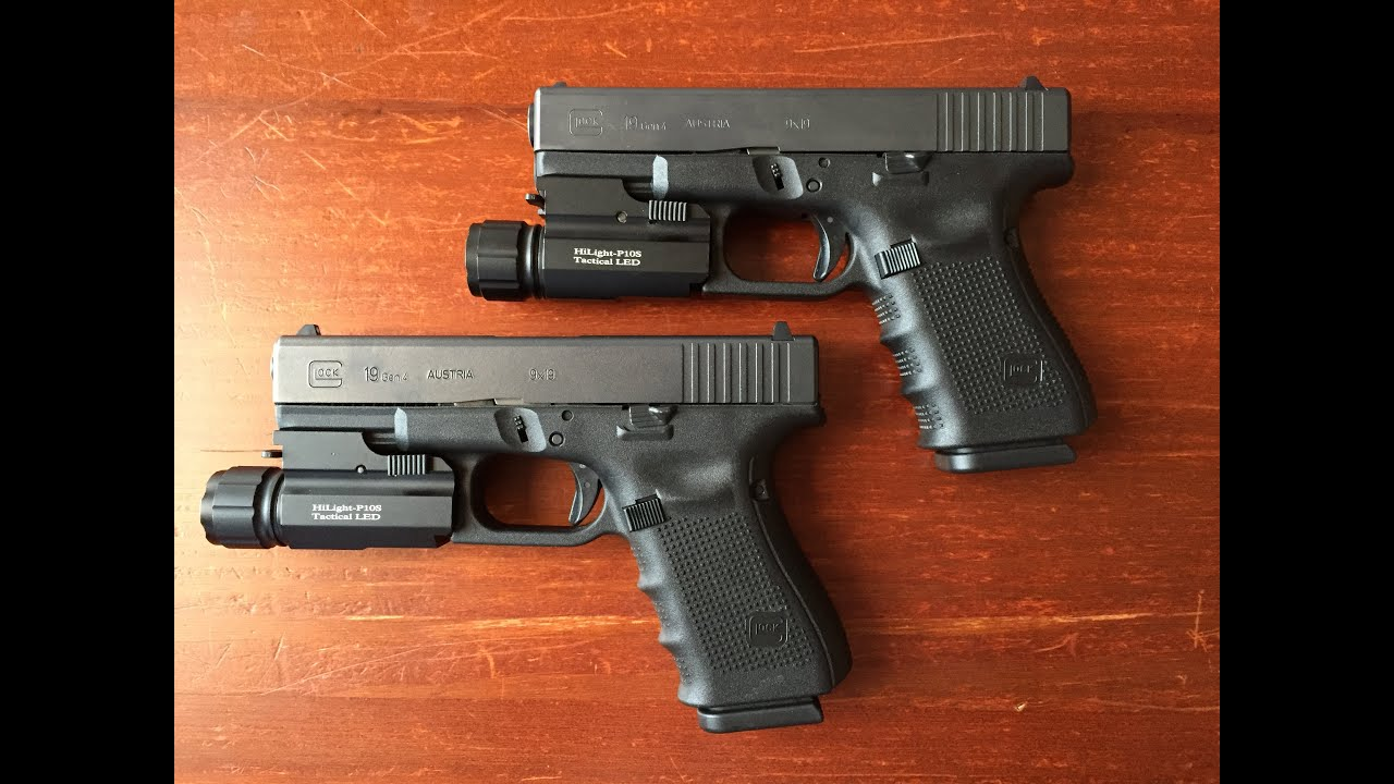 Glock 19 Gen 4 - Two Different Slide Finishes - YouTube