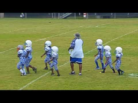 MS LIONS(12)vs Radiers(0) Coach White D Team 9/14/2017 #1