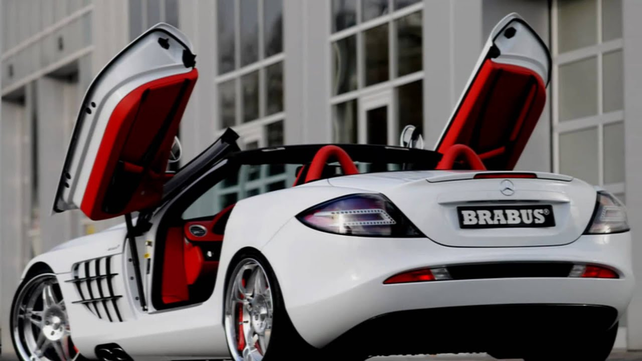 Lovely 2008 Brabus Mercedes Benz SLR Mclaren Roadster   YouTube