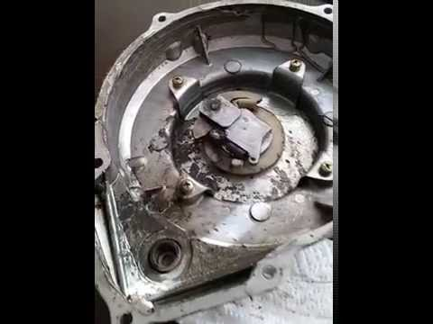 2000 250cc Trail Blazer broken pull cord - YouTube