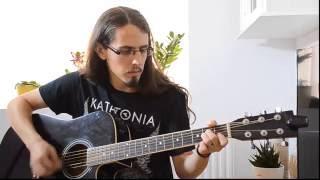 Katatonia - Decima (acoustic guitar cover)