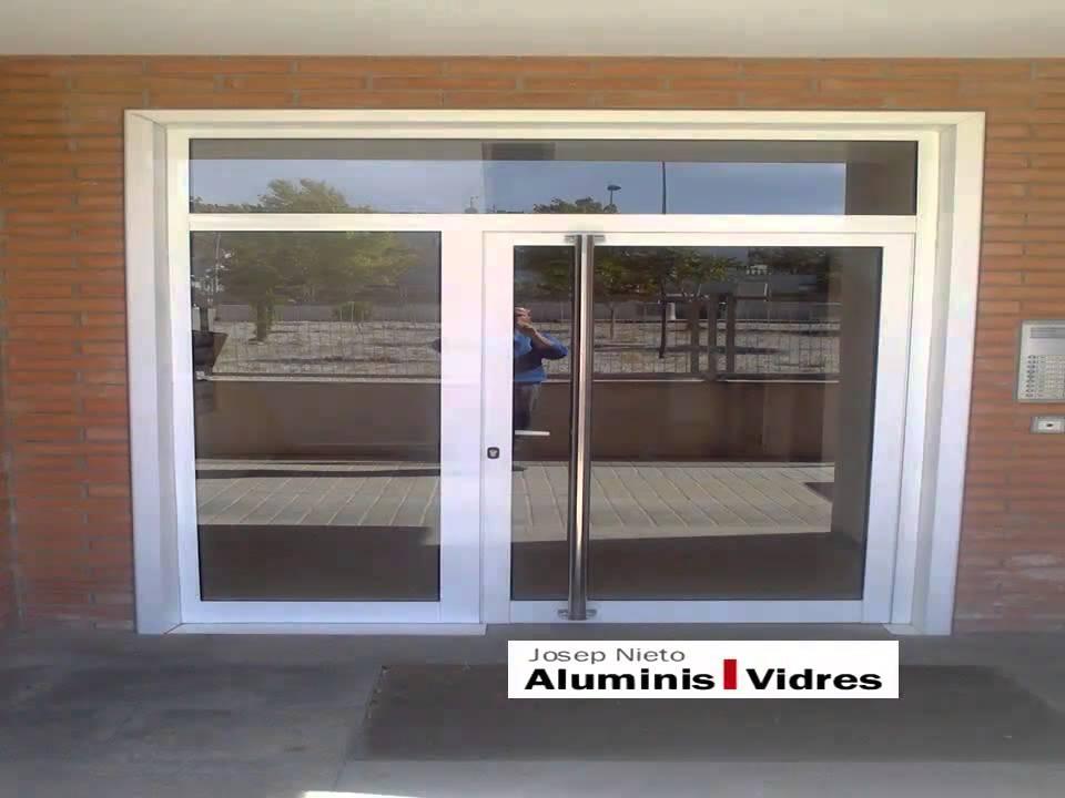 Puertas de aluminio para exteriores y para interiores - Modelos de puertas de aluminio para exterior ...