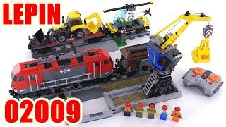 Lepin 02009 Heavy Haul Train