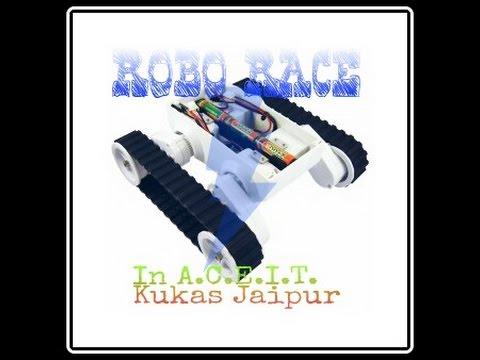 College Event Robo Race