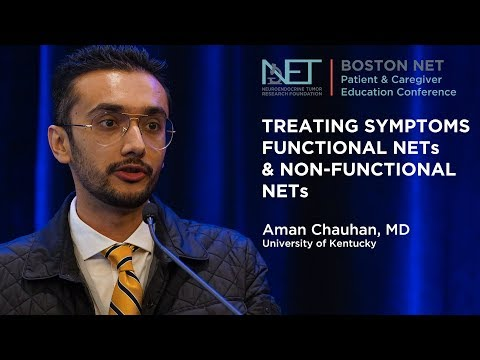 Functional and Nonfunctional NETs, Aman Chauhan, MD, University of Kentucky