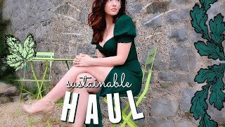 Sustainable Fashion Haul! Charity Shop & Reformation Try On   Melanie Murphy - ad
