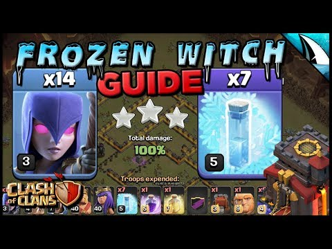 *Frozen Witch Guide* Th 10 - Super Strong | Clash of Clans