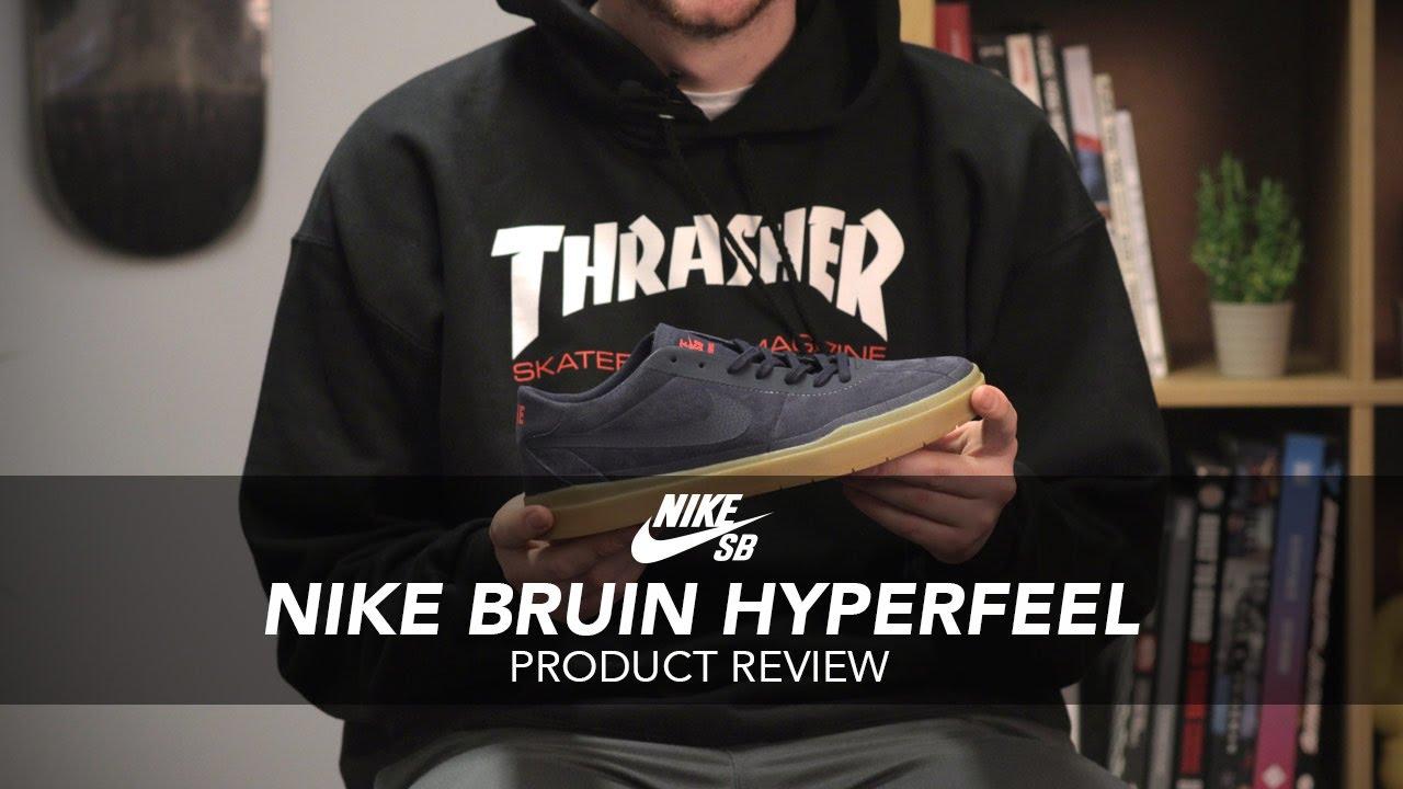 outlet store 34cdb ca09b Nike SB Bruin Hyperfeel Skate Shoe Review - Rollersnakes.co.uk