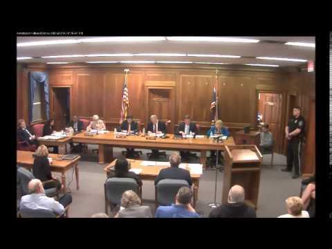 Burlington County Board of Chosen Freeholder's Public Meeting March 26th, 2014