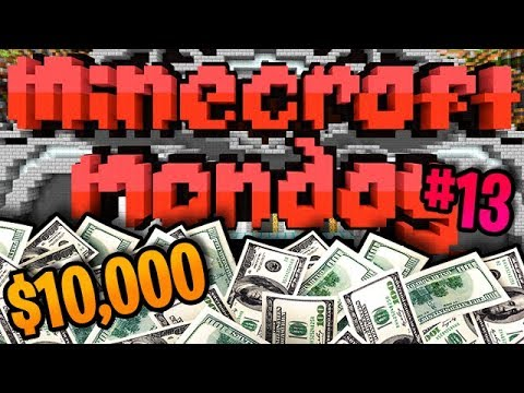 Minecraft Monday $10000 YouTuber Tournament #13