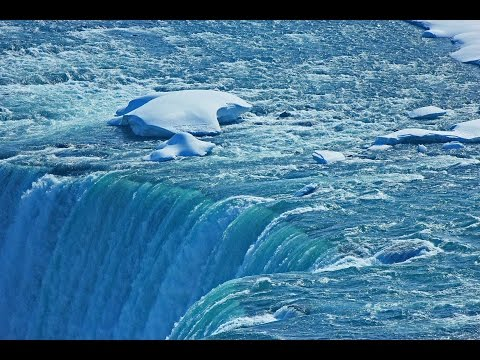 Niagara Falls Thawing After 2015 Deep Freeze