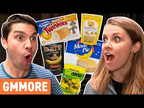 Weird Banana Snacks Taste Test