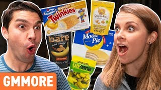 Weird Banana Snacks Taste Test