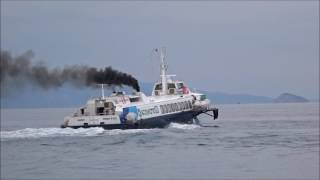 IONIS & FLYING DOLPHIN 18 Departing Aegina 29 Oct 2016