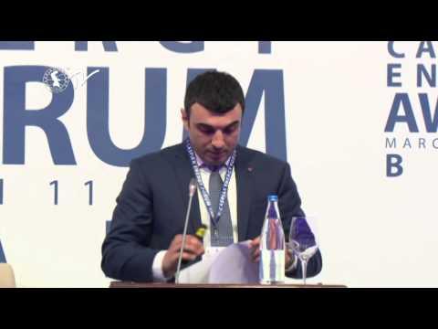 Taleh Kazımov - Caspian Energy Forum - Baku 2015-az