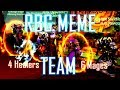 6 Fire Mage, 4 Healer RBGs - RBG MEME TEAM | HaiLexiBoo