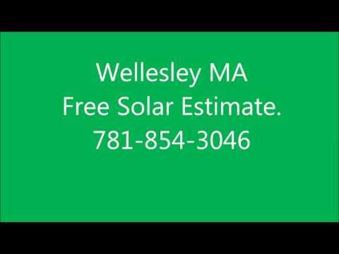 Solar Panels Wellesley MA