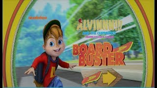 Alvin and the Chipmunks Game! New Board Buster skateboard game! Nickelodeon! Nick Jr!