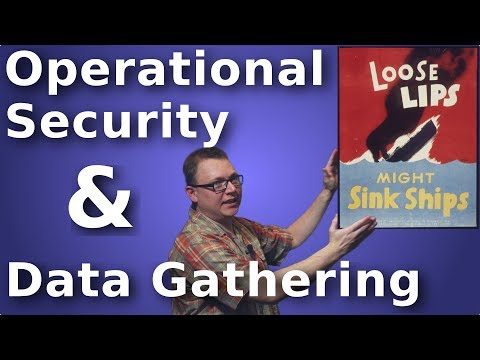 Aaron Jones: Security:Operational Security and Data Gathering