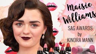 Maisie Williams SAG Awards Tutorial with Kindra Mann!
