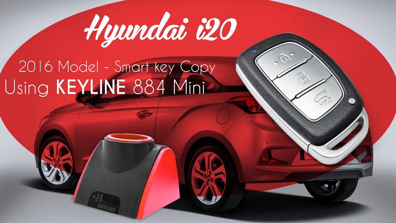 Hyundai I20 Elite Smart Key Copy Youtube