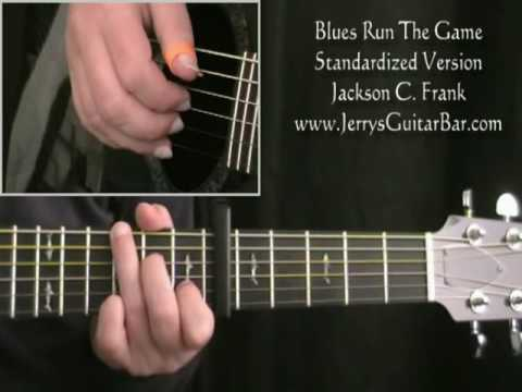 How To Play Jackson C Frank Blues Run The Game (full lesson)
