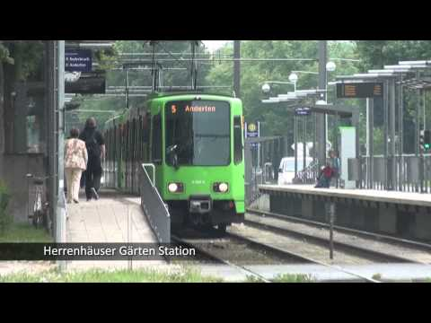 Hannover, Germany Straßebahn (Street trains)