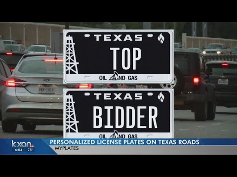 Got Plates? Texas License Plate Auction Raising Millions For State