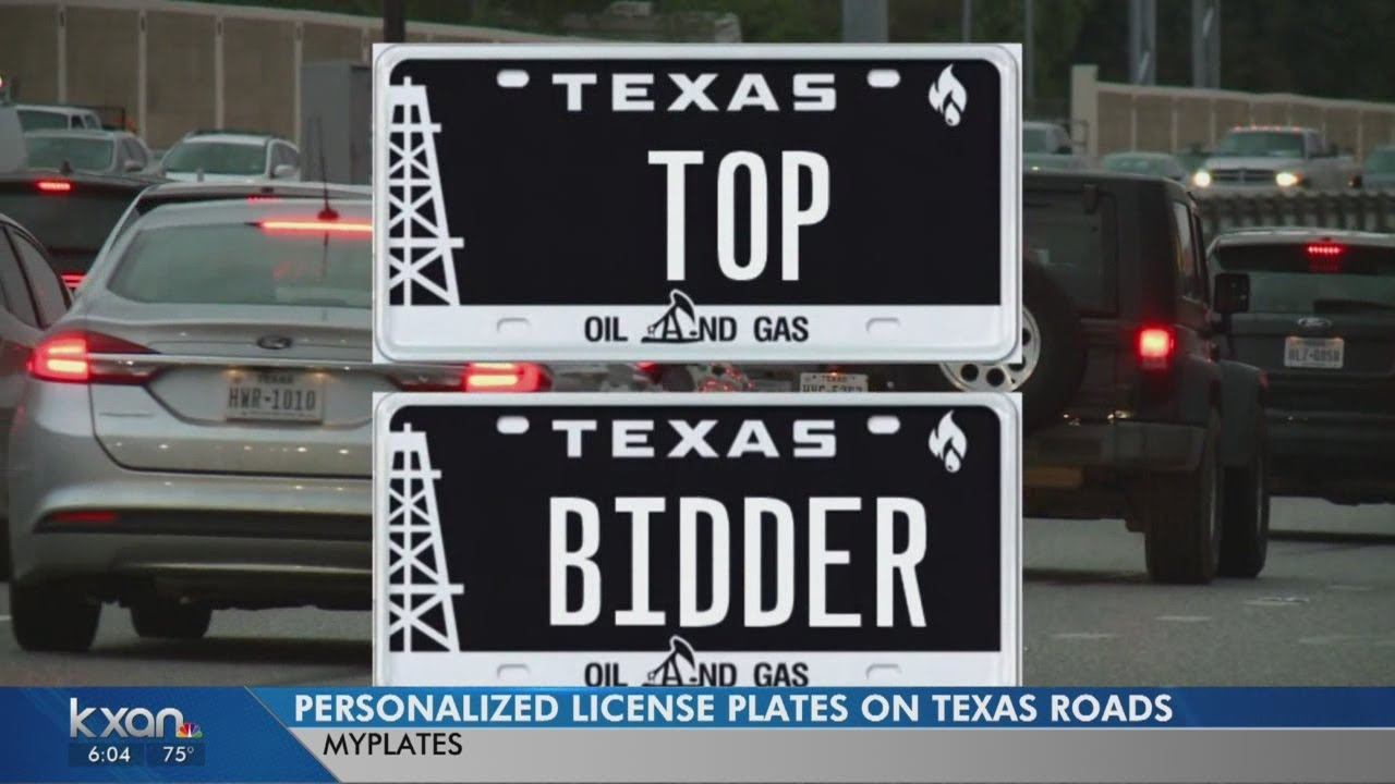 My Plates Texas >> Got Plates Texas License Plate Auction Raising Millions For State