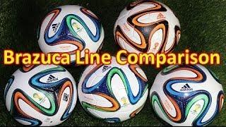 Adidas Brazuca Soccer Ball/Football Line Review