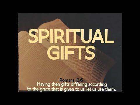 Spiritual Gifts SS 10082017 El Paso Christian Church Live Stream