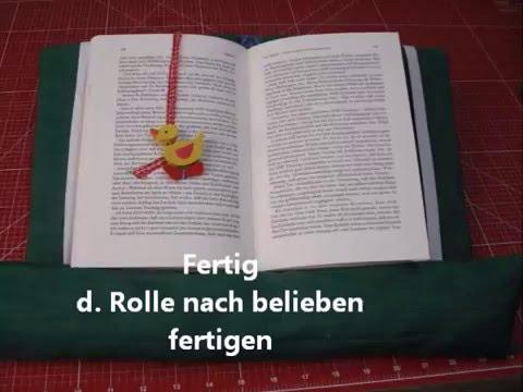Leselotte Buchkissen Buchstutze Oder Lesesack Youtube