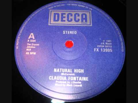 Claudia Fontaine - Natural High