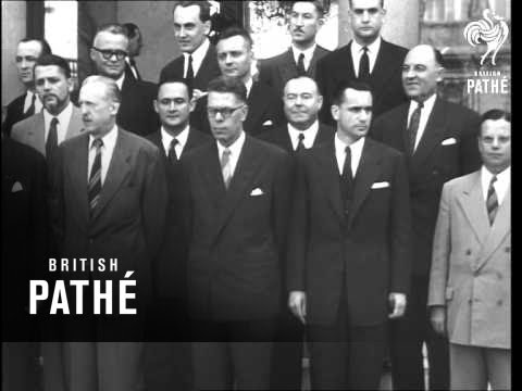New French Government - Mendes-France (1954)